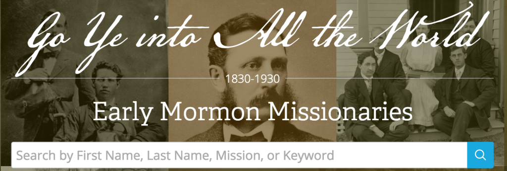 Early Missionary Database